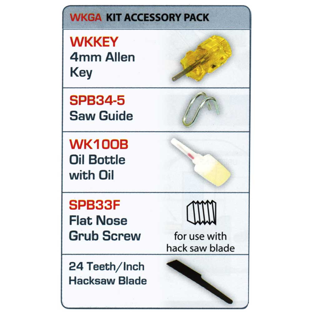 Air tool accessory pack